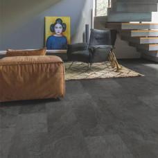 Вініл Quick Step Ambient Glue Plus AMGP40035 Сланець чорний
