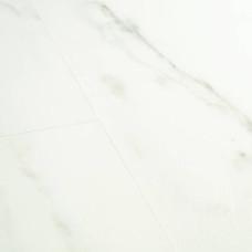 Вініл Quick Step Ambient Glue Plus AMGP40136 Білий карарський мармур
